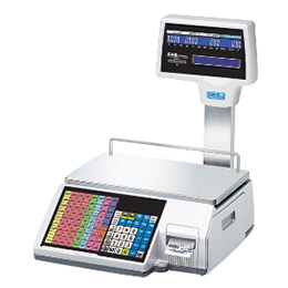 cl5500r label printing scale