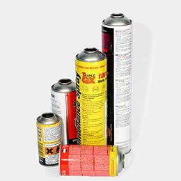 Aerosol cans
