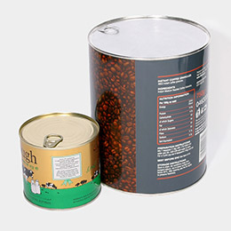 Open top food cans