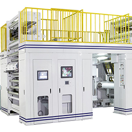Electronic Line Shaft Rotogravure Printing Press CCI-G936 ESPL