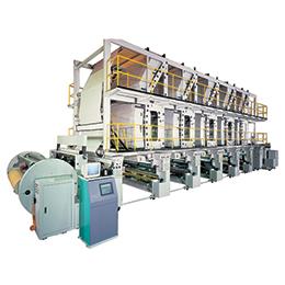 Electronic Line Shaft Rotogravure Printing PressCCI-G836-ESPL