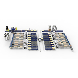 Central Robot Palletising System
