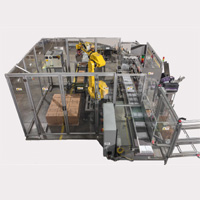 Robotic Case Packer and Palletizer