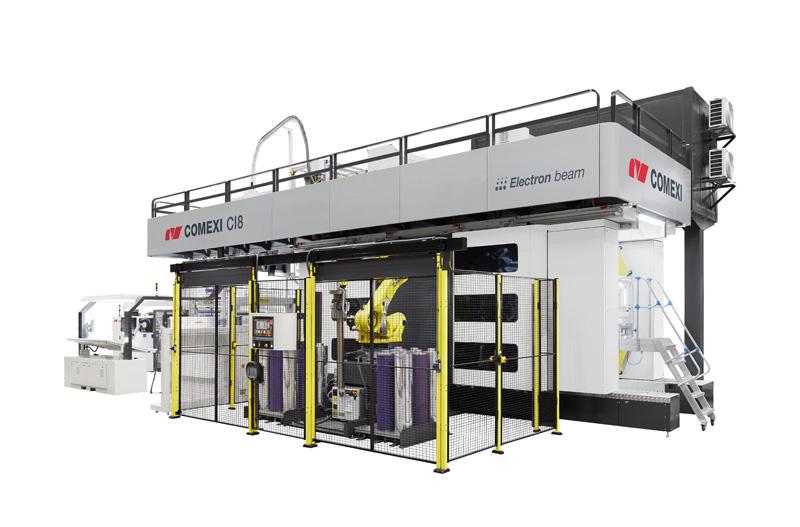 CI8 Flexo Printing Machine