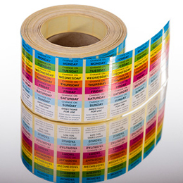 Digitally printed labels