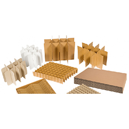 Cardboard Fitments and Pads