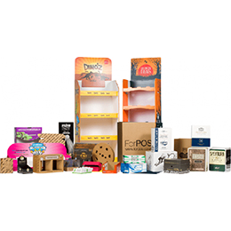 Point Of Sale Cardboard Display Units