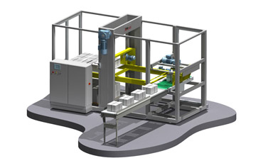 Fully automatic palletising robot MK1-A1