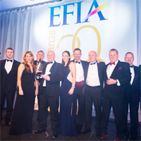Datalase Wins Gold At Efia Print Awards