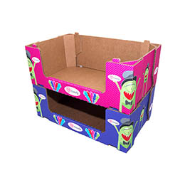 CLUB STORE PACKAGING STACKABLE TRAYS