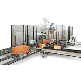 Robotic palletising cells