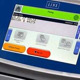 Continuous Inkjet printer LINX 8920