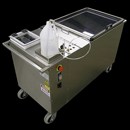portable molten product filler