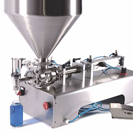 single head tabletop piston filler