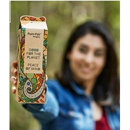 The Pure-Pak® Imagine carton