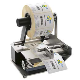Electric label dispensers