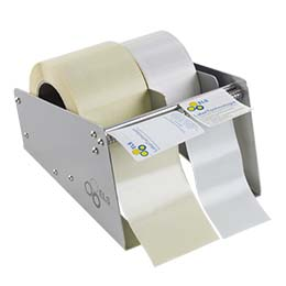 Manual label dispenser