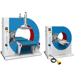 Automatic Wrapping Machine with Rotating Crown