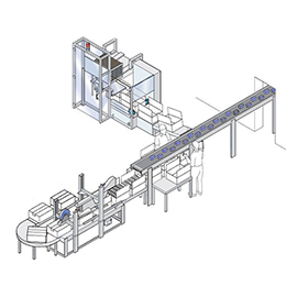 SEMI-AUTOMATIC CASE PACKERS