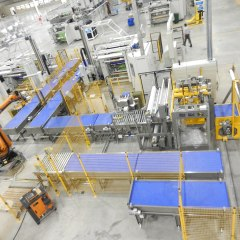 Automatic Double Turret Slitters for Industry 4.0