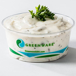 greenware portion cups