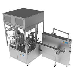 Cup/tub filling and sealing machine – ARI-P 3
