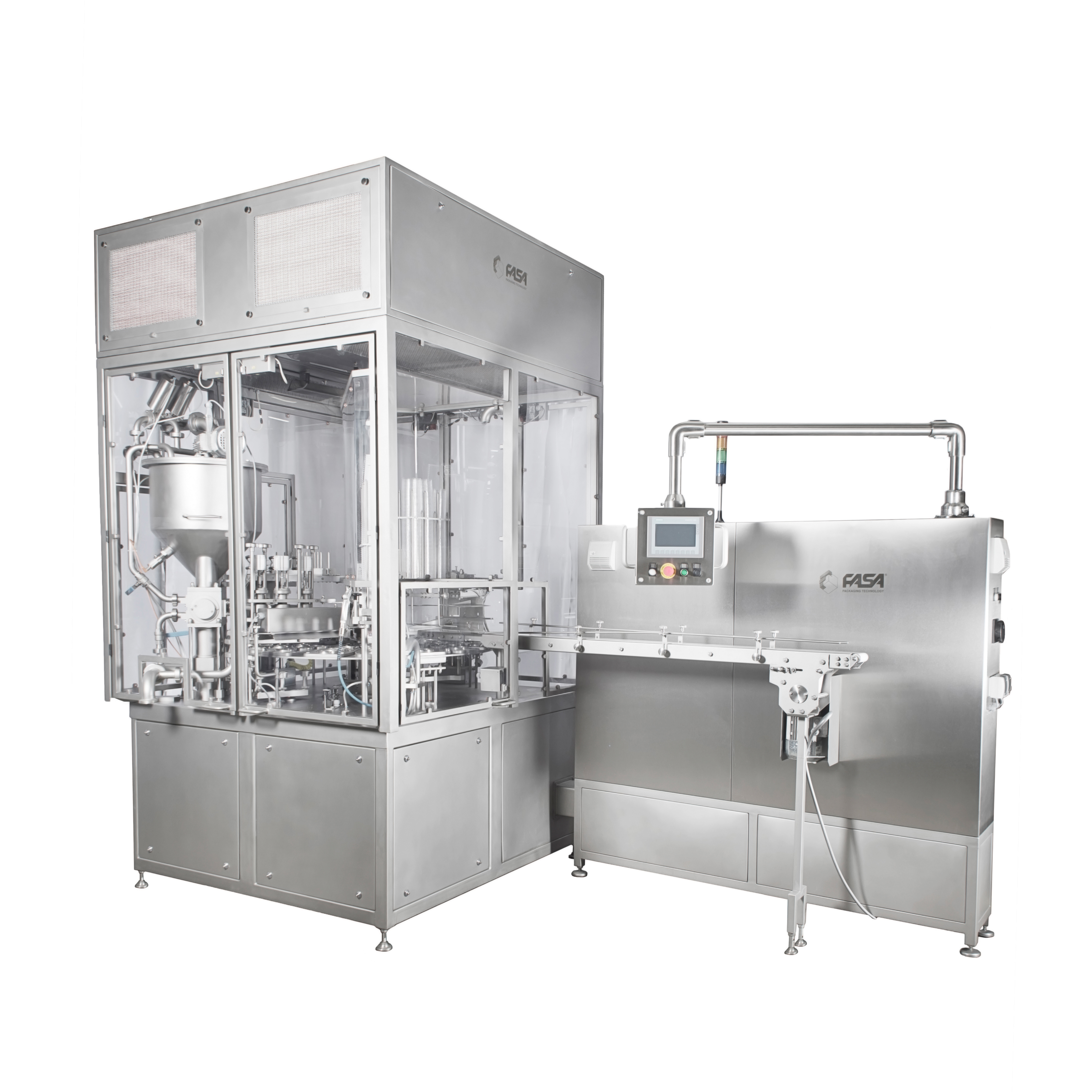 Cup/tub filling and sealing machine – RFS 120