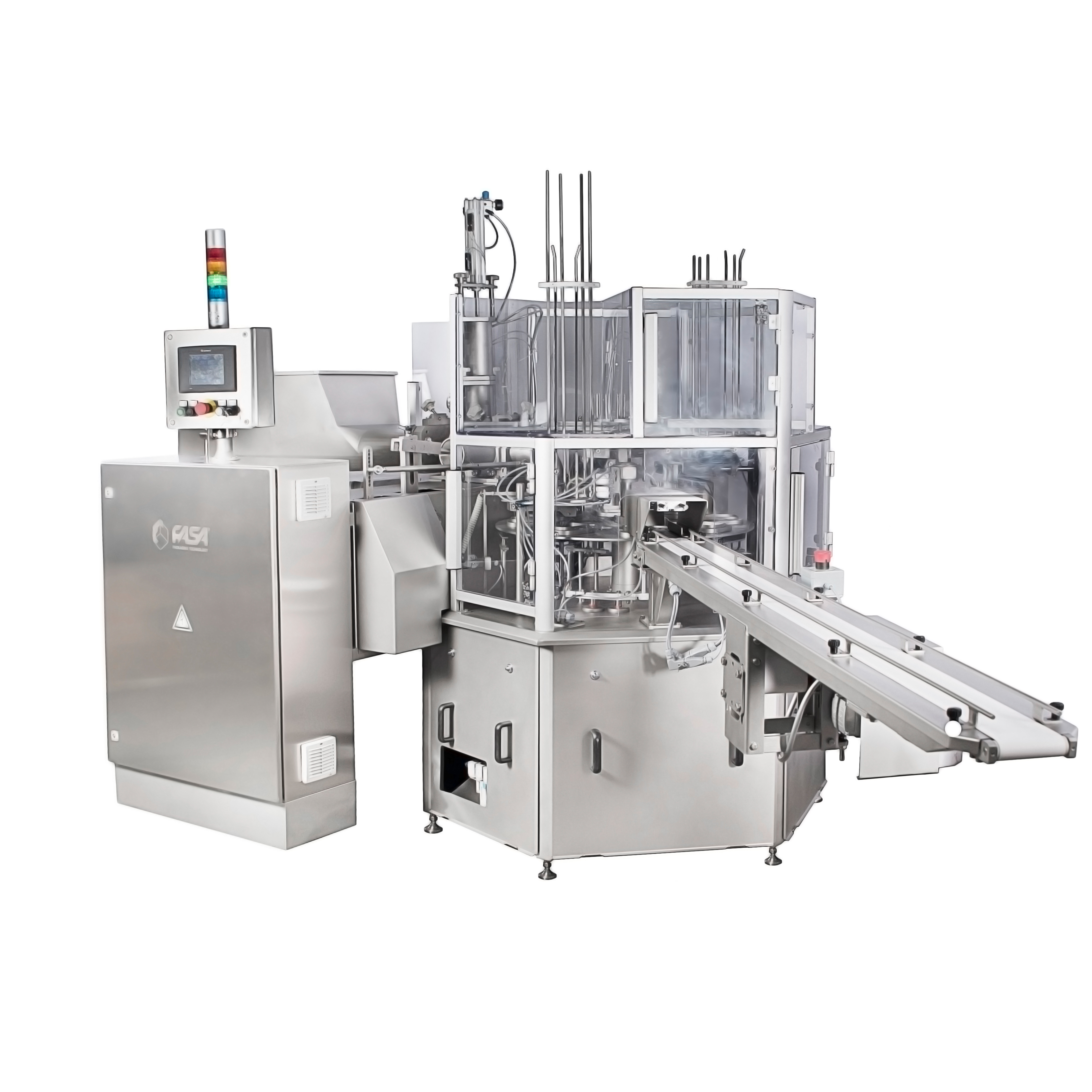 Cup or tub filling and sealing machine - RFS 40