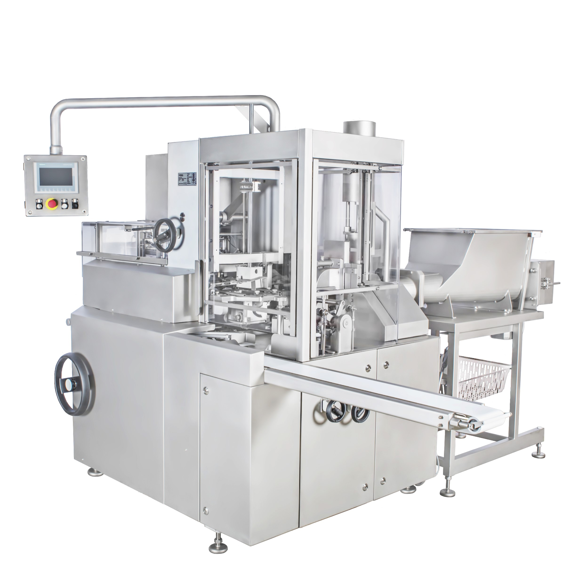 Butter filling and wrapping machine