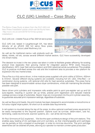 Clc uk limited