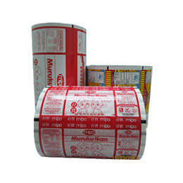 Snacks Food Packing Pouches-Rolls