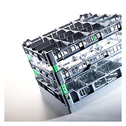 Glass rack 400 x 400