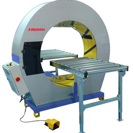 fv300-125 semi automatic orbital wrapping machine