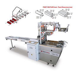 OWET 1000O  verwrapping Envelope Type Packaging Machine