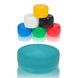 Plastic cap closures