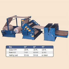 Single Facer Corrugating Machine
