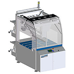BUNDLE PACKER FOR SAFE PROTECTIVE AND TRANSPORT PACKAGING