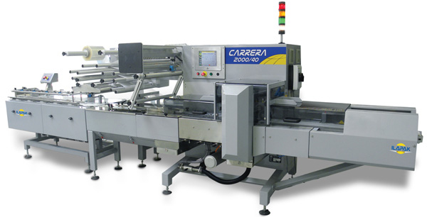 Carrera Flow Wrapping Machine