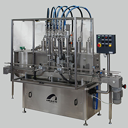 Polaris p pneumatic linear filling machine
