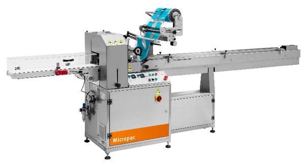 Micropac Super Pba Horizontal Flow Pack Machine