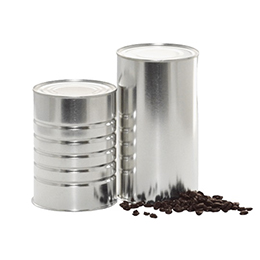 Hermetically-sealed Coffee Cans
