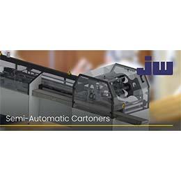 Semi-automatic cartoning machines