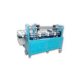 Semi-Automatic Tinplate Sheet Edge Deburring Grinding Machine