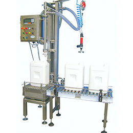 Gravimetric liquid filling machines