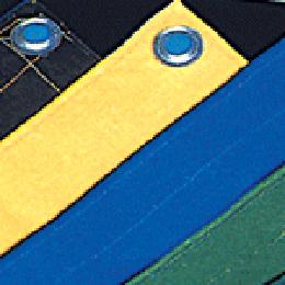 Aluminium & Brass Eyelet for HDPE Tarpaulin