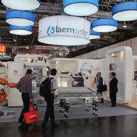 laem system - eutro log celebraitingtheir success at drupa