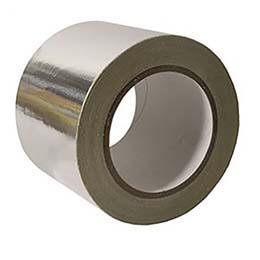 Tape, Aluminum, 12 x 60 yds, 2 mil, AF-20A, 72 rlscs