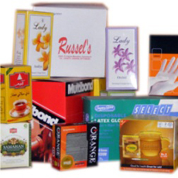 offset printed cartons