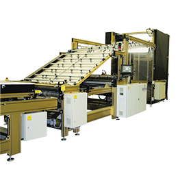 fasline-fully automatic high speed laminating-mounting machine