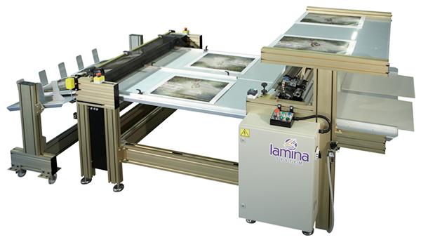 MANUAL LINE MANUAL SHEET-TO-SHEET LAMINATING/MOUNTING MACHINE
